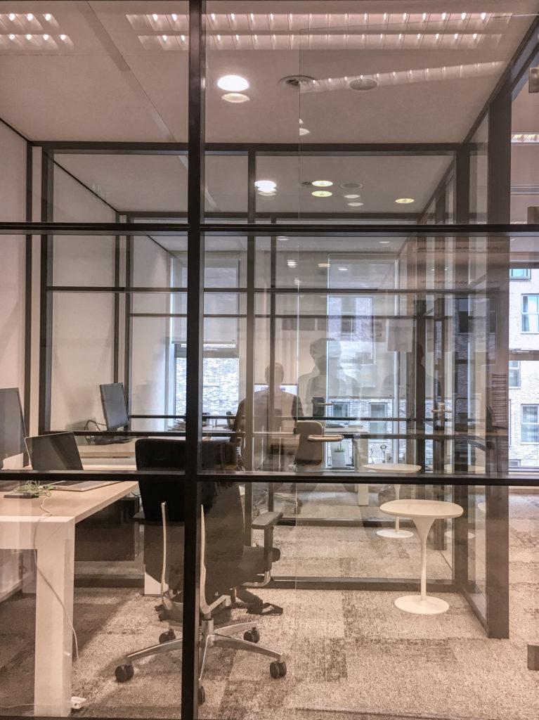 kantoor stilte werkplekken