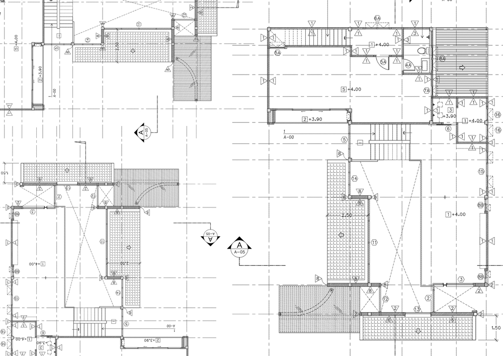 plattegrond kantoor renovatie