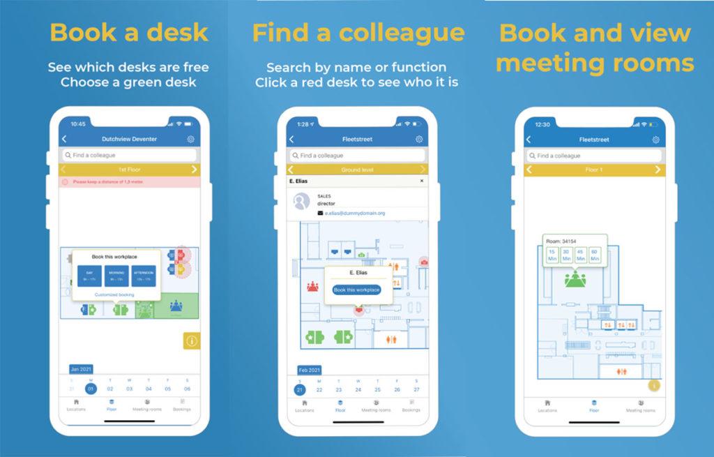 workspace management app